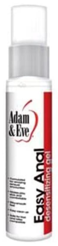 Adam & Eve Easy Anal bottle